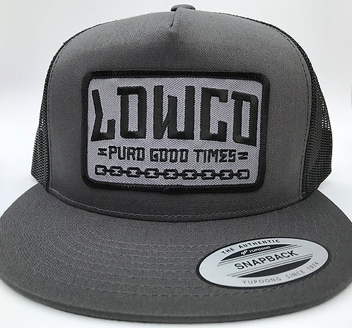 Puro Good Times Charcoal Gray Hat