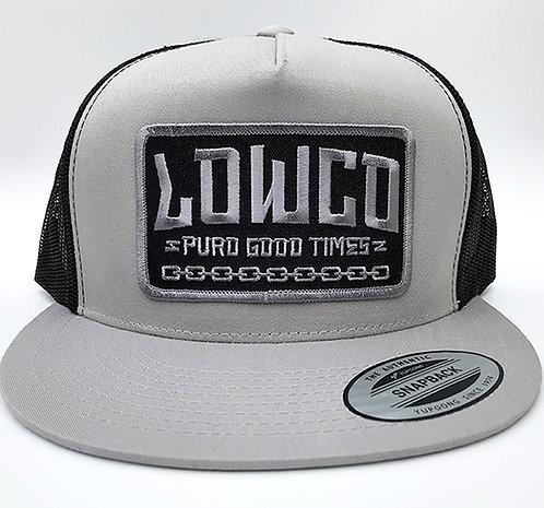 Puro Good Times Light Gray/Black Mesh Hat