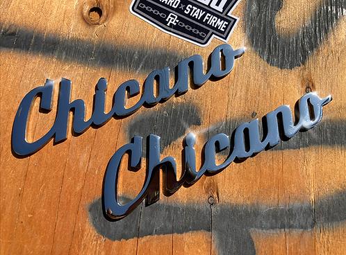 Chicano Emblem Badges (Pair)