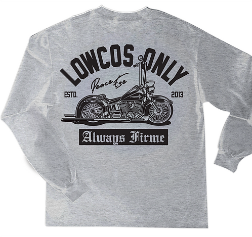 Lowcos Only Long Sleeve Heather
