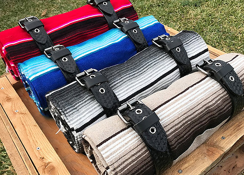 Vicla Serape Blanket Rolls Motorcycle accessories chicano style