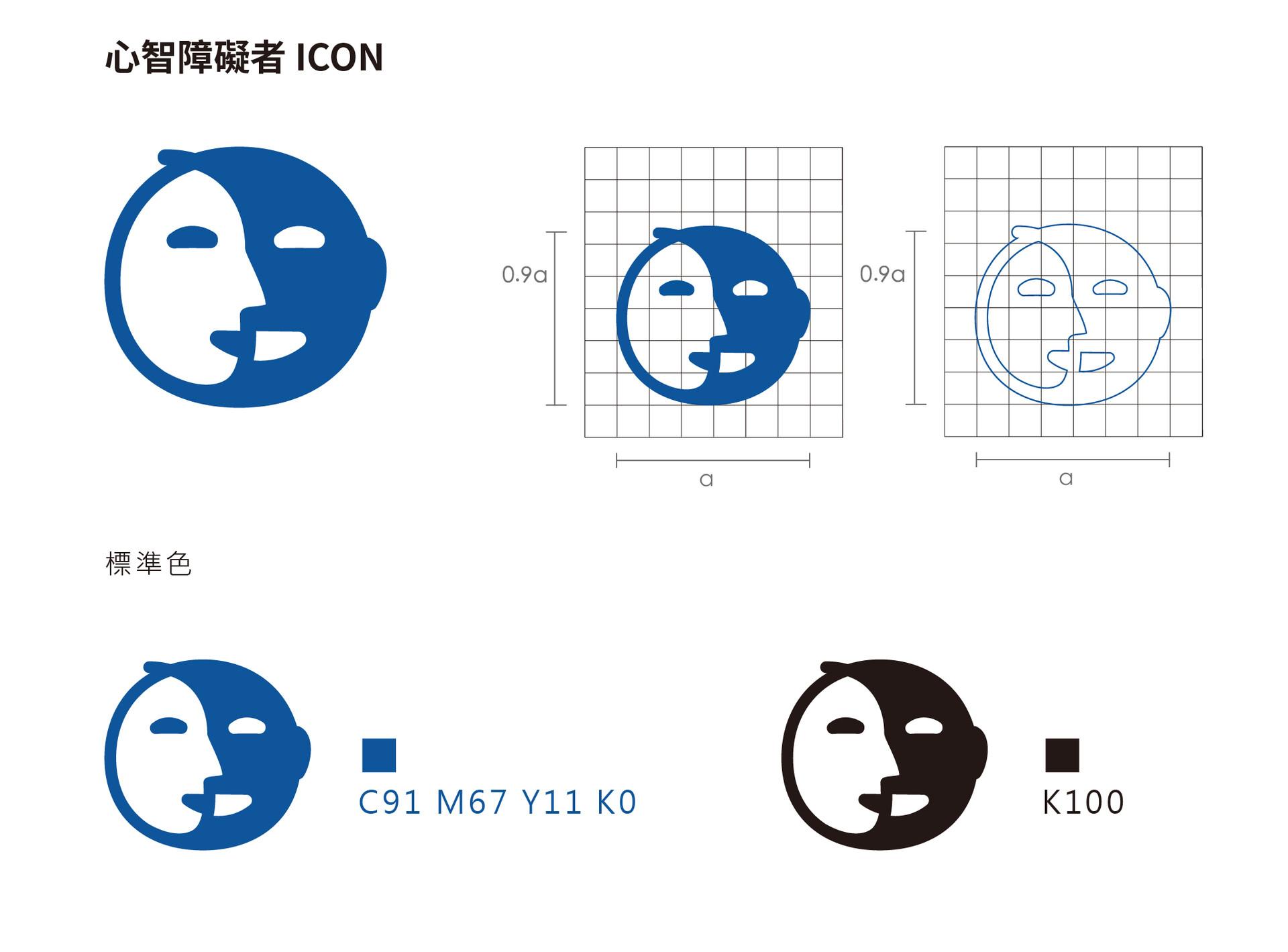 心智障礙者icon設計