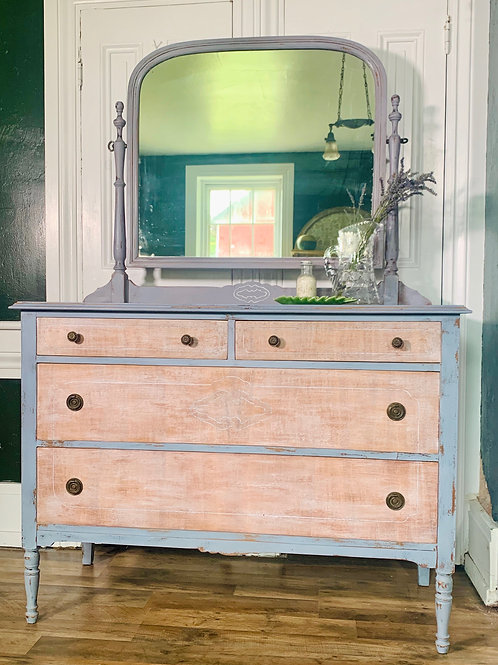 Dresser with Mirror | Dried Lavender by Miss Mustard Seed