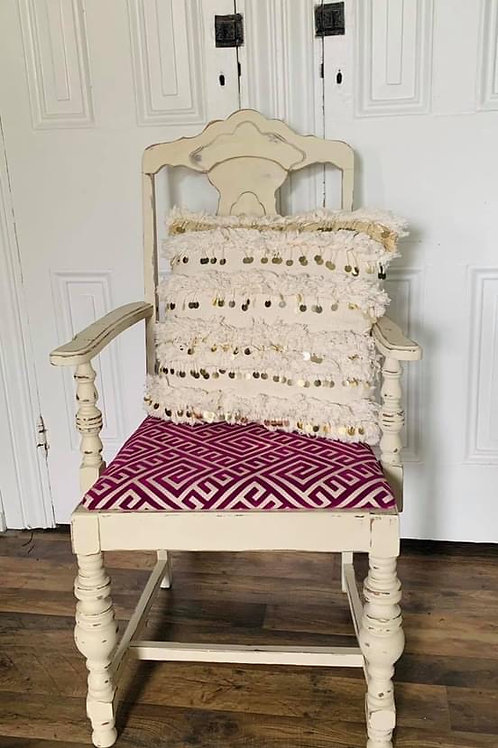 Upholstered Chair  | Old Ochre by Annie Sloan