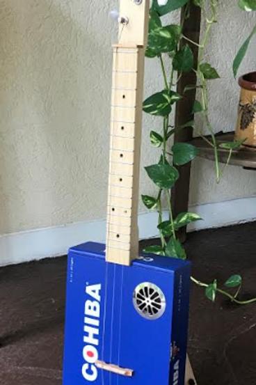 Acoustic Cigar Box Guitar