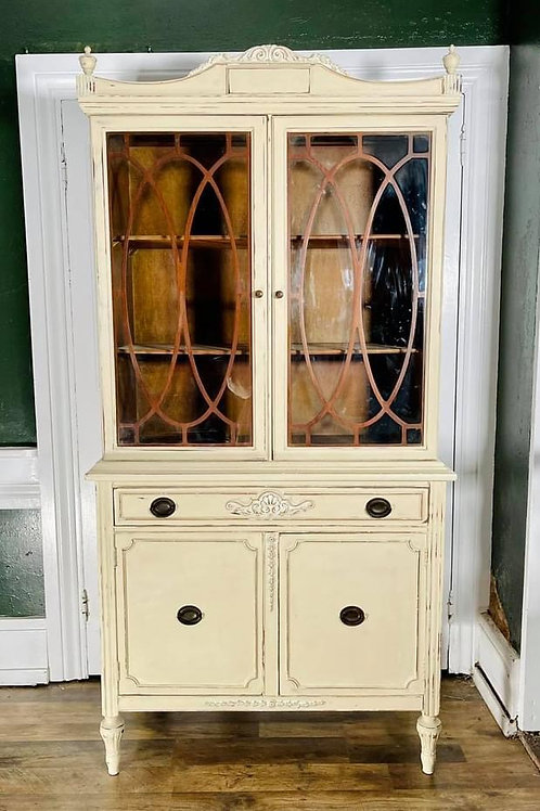 China Cabinet   Old Ochre by Annie Sloan Chalk Paint