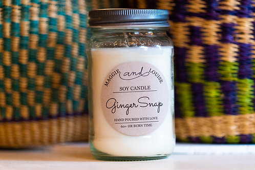 Ginger Snap Candle