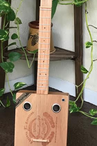 Acoustic/Electric Cigar Box Guitar