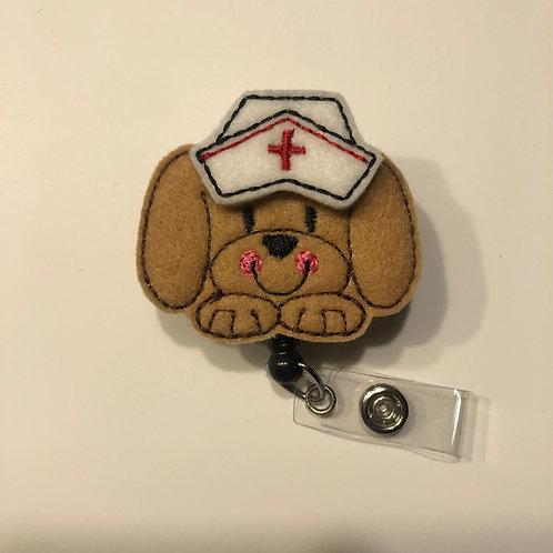 Puppy Nurse Retractable Badge Reels for ID Tags