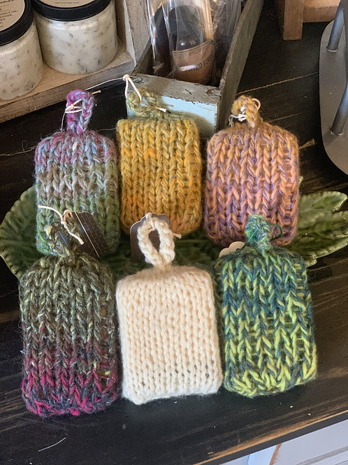 Assorted Soap in Sweaters