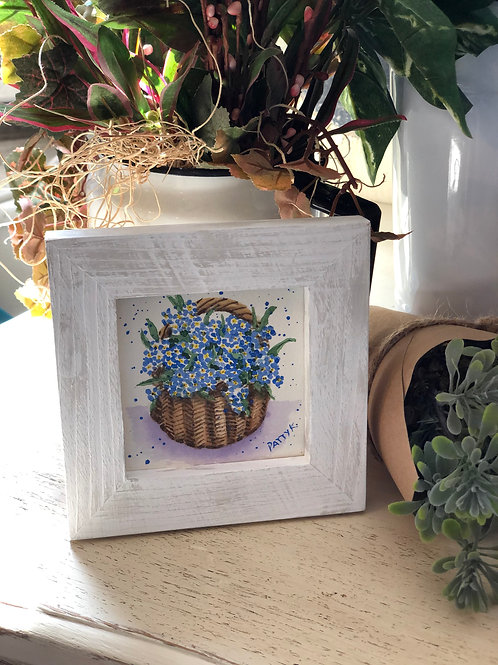 Forget Me Nots  | Original Watercolor