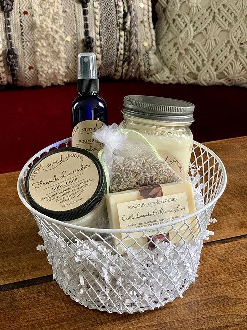 Lavender Fields Forever Gift Basket