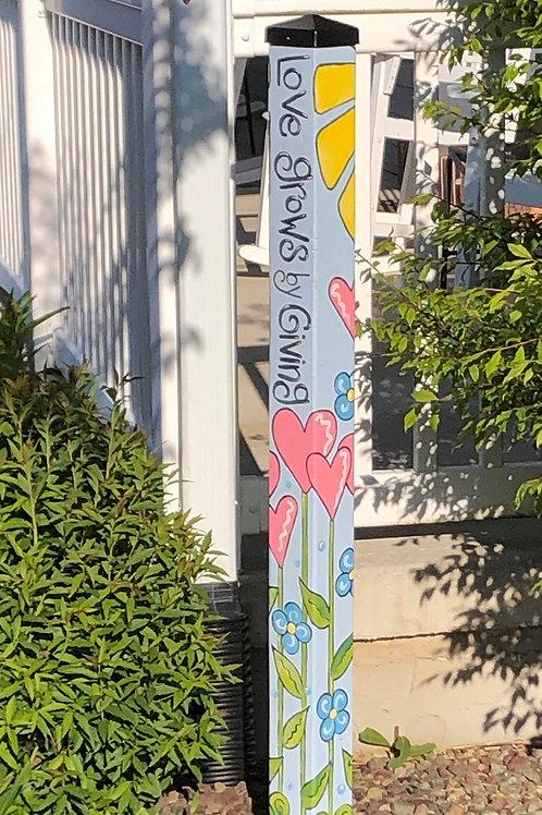 Garden Peace Poles