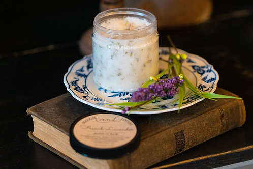 French Lavender Body Scrub