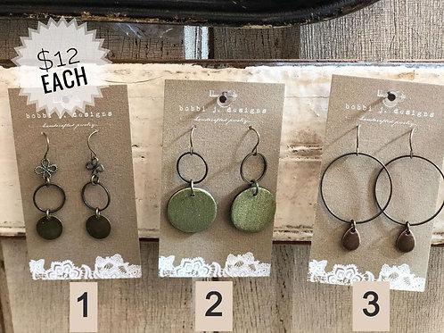 Choice of Earrings