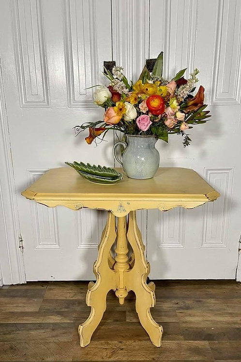 Small Table | Arles and Old White by Annie Sloan Chalk Paint