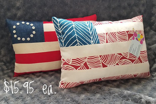 Assorted Patriotic Pillows
