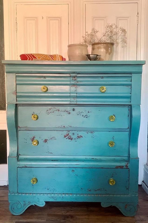 Empire Dresser | Kitchen Scale by Miss Mustard Seed's Milk Paint
