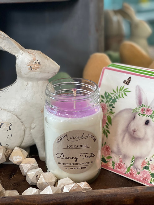Bunny Toots Candle