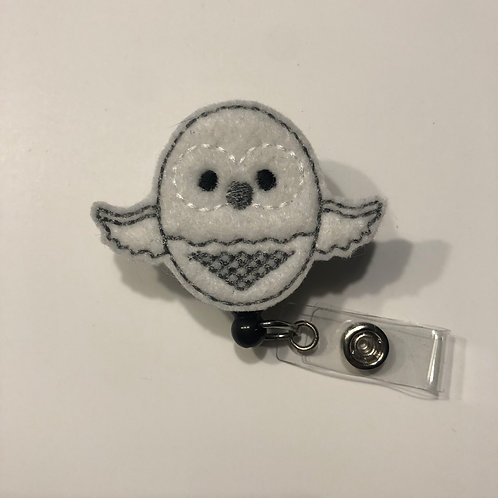 Owl Nurse Retractable Badge Reels for ID Tags