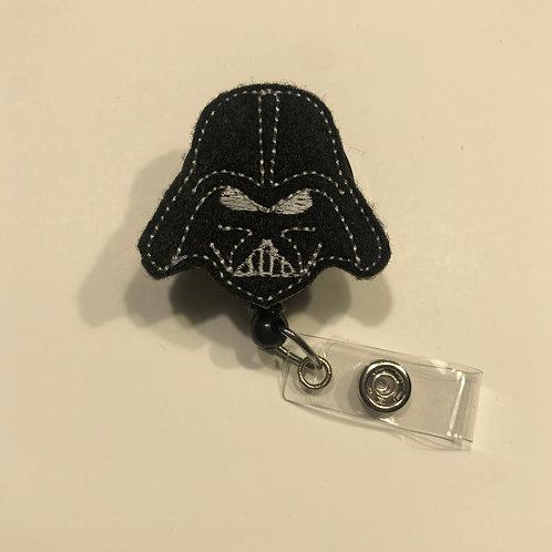 Dark Vader Nurse Retractable Badge Reels for ID Tags