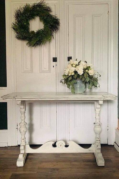 Library Table  | Old White by Annie Sloan