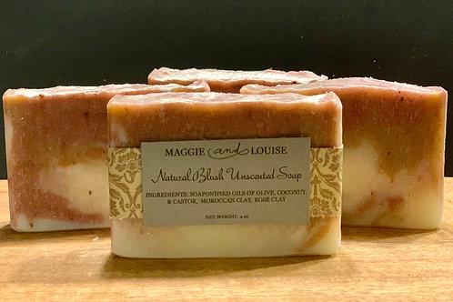 Natural Blush Unscented Soap