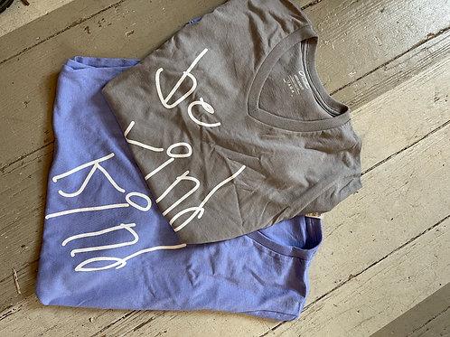 Be Kind Adult Size V-neck Short Sleeve T-shirt