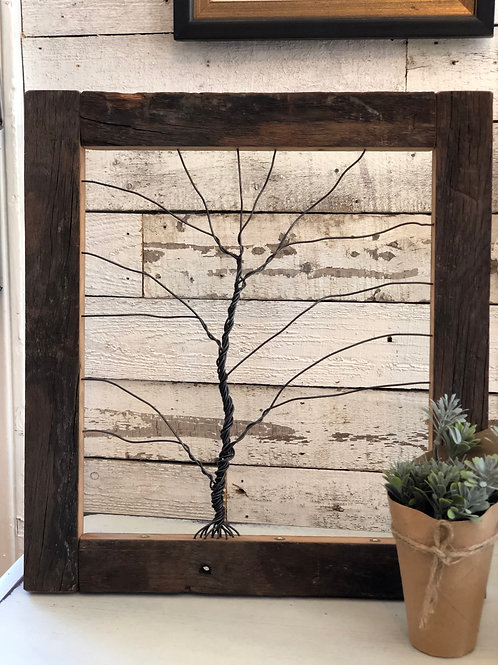 Twisted Wire Tree - Large