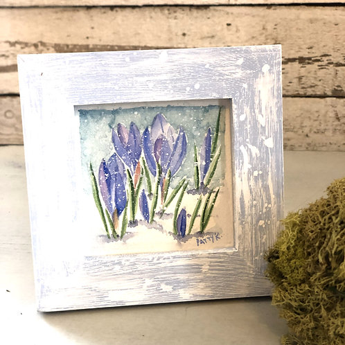 Crocus | Original Watercolor