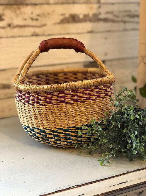Woven Petite Basket from Ghana