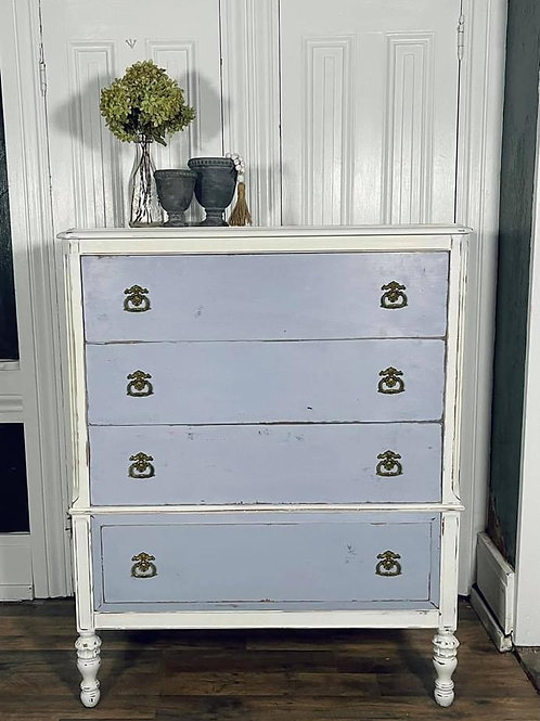 Dresser | Louis Blue and Pure by Annie Sloan