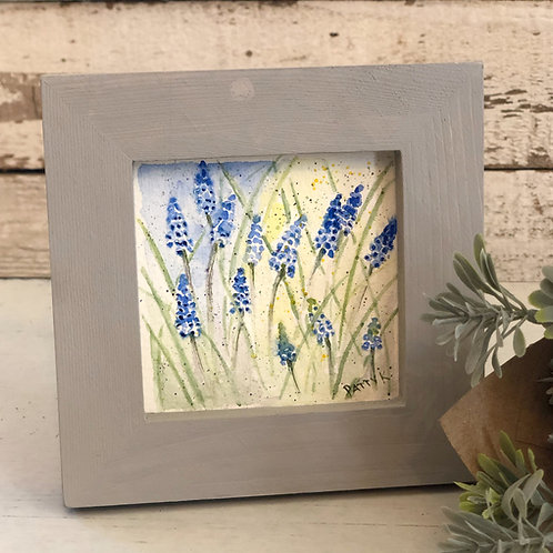Grape Hyacinth | Original Watercolor