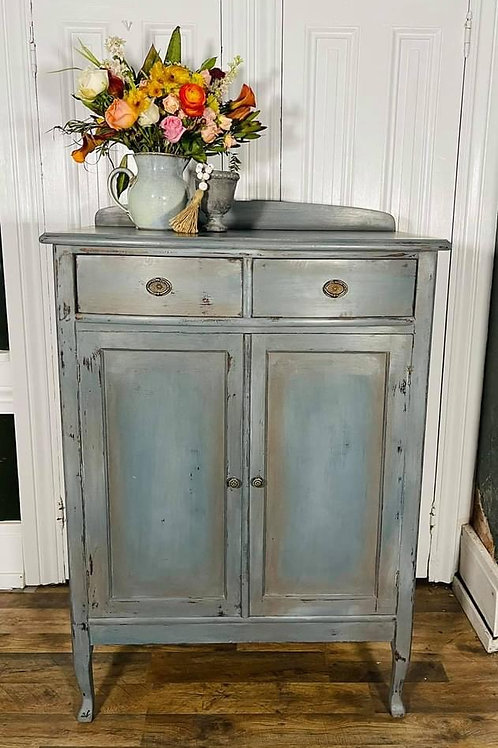 Tall Dresser | Lois Blue and Abusson blend by Annie Sloan