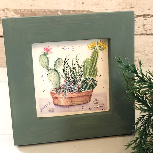 Cactus | Original Watercolor