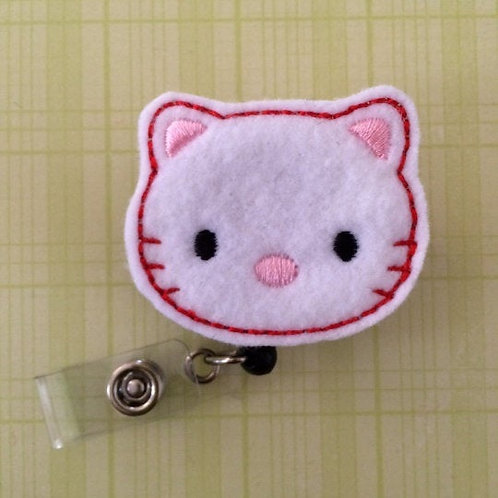 Kitty Nurse Retractable Badge Reels for ID Tags