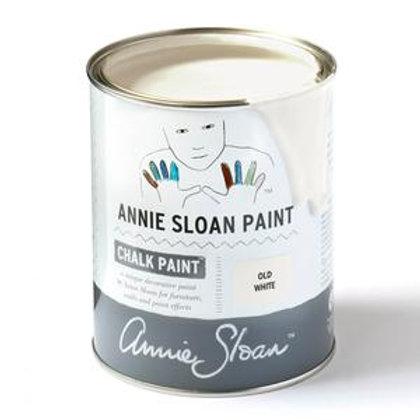 Old White Annie Sloan Chalk Paint