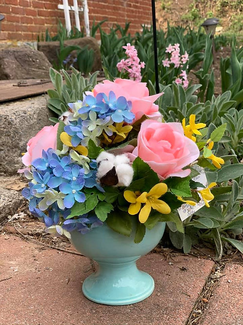 Classic Spring Permanent Flower Design