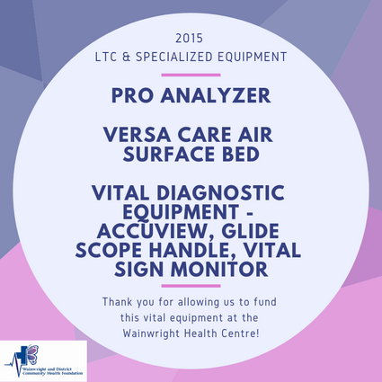 2015 - Long Term Care and Specialized Equipment