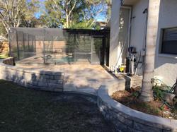 Aspendos w/Paver Retaining Wall