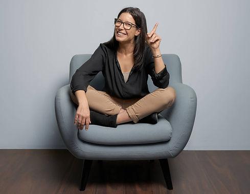 Sandra Hinte, Gründerin der Blauen Campus und Erfinderin der Blue Map