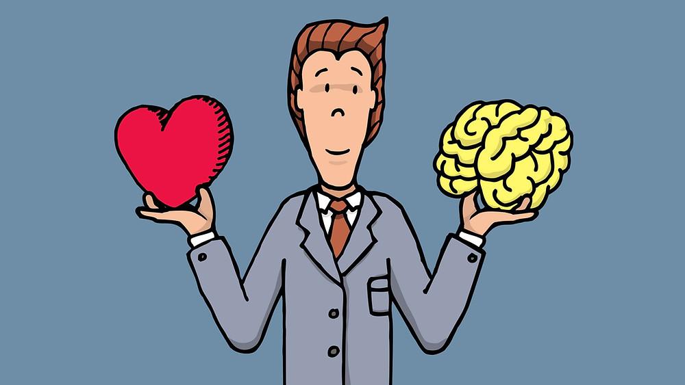 Herz oder Kopf?