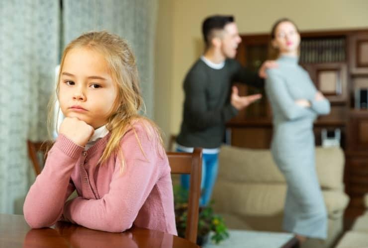 Kinder sind das schwächste Glied in einer Trennung