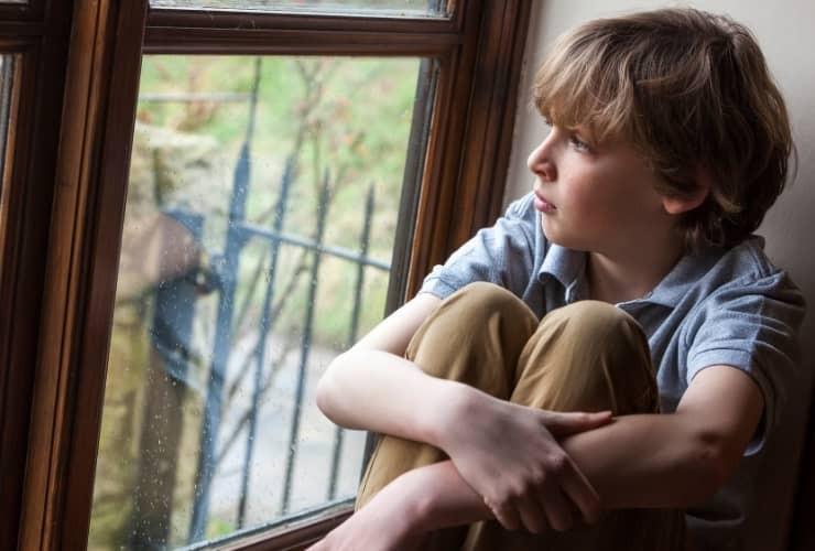 Kinder machen während einer Trennung vieles mit sich alleine aus