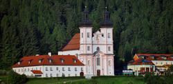 Maria Schutz mit Wallfahrtskirche