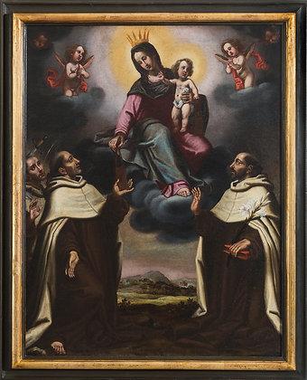 Domenico Pugliani Madonna con Bambino