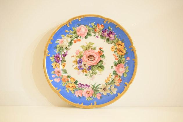 Coppia di piatti decorati