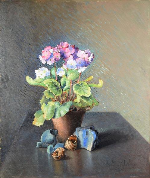Valentino Ghiglia - Vaso di Fiori