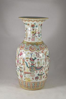 Vaso in porcellana Famiglia Rosa