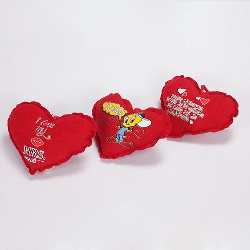 Jastuk poklon srce mini